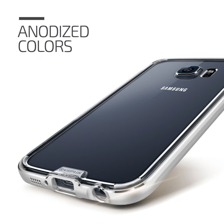 Verus Iron Bumper Samsung Galaxy S6 Case - Silver
