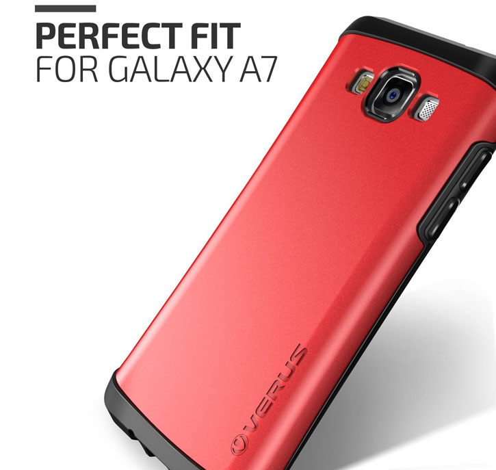 Verus Thor Samsung Galaxy A7 Case - Crimson Red