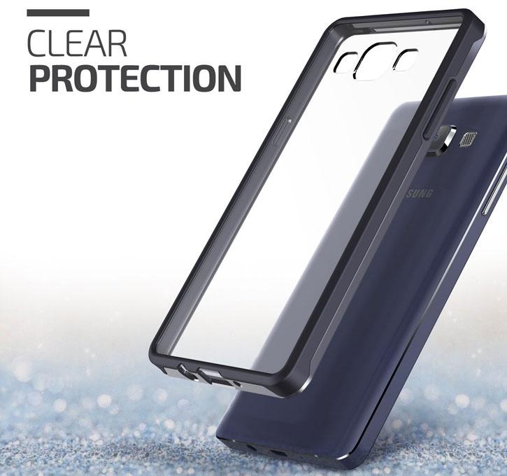 Verus Crystal Mix Samsung Galaxy A7 Case - Crystal Black