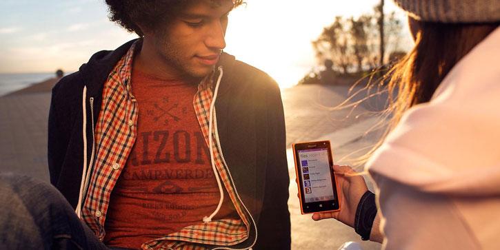 SIM Free Microsoft Lumia 435 - Orange