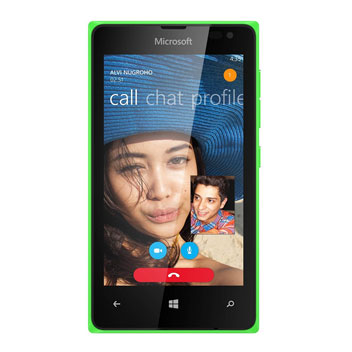 SIM Free Microsoft Lumia 435 - Green