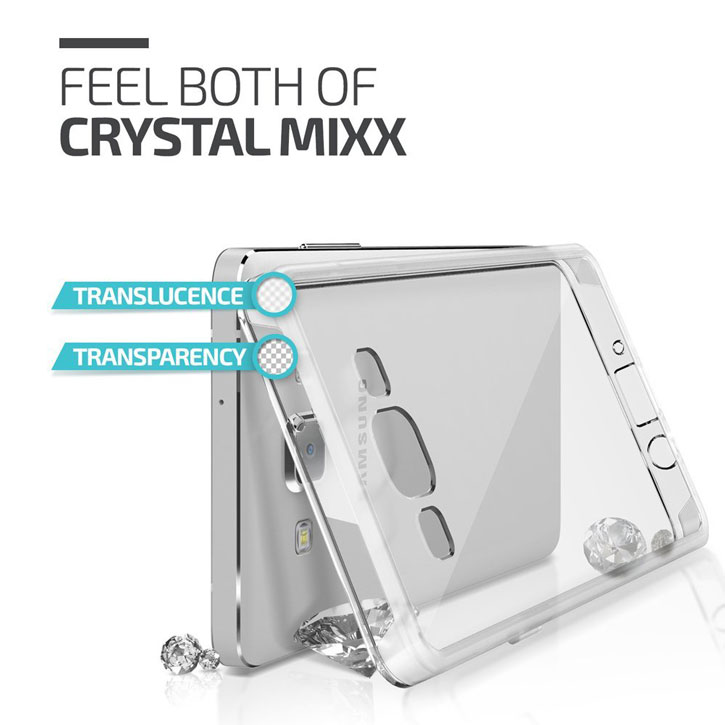 Verus Crystal Mix Samsung Galaxy A5 Case - Clear