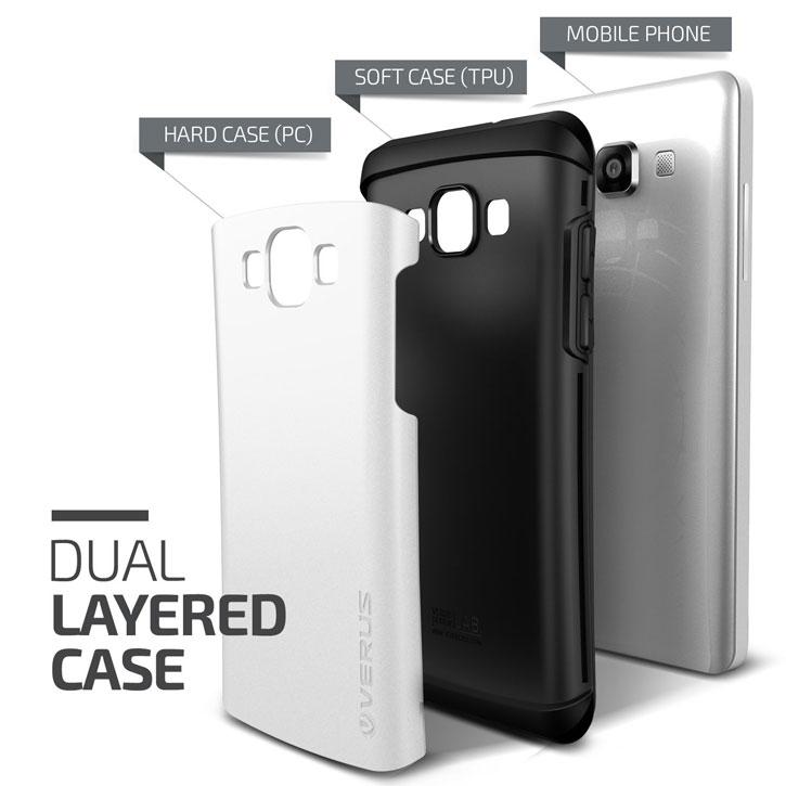 Verus Thor Samsung Galaxy A5 Case - Pearl White