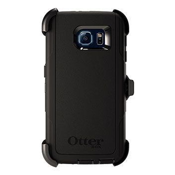 OtterBox Defender Series Samsung Galaxy S6 Case - Black