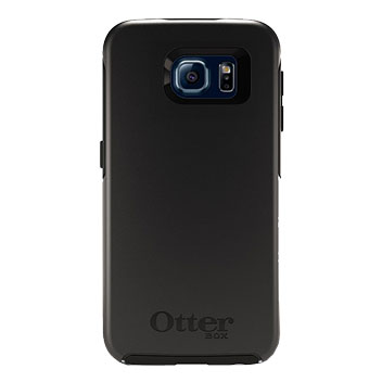 OtterBox Symmetry Samsung Galaxy S6 Case - Black