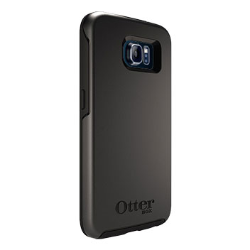 OtterBox Symmetry Samsung Galaxy S6 Case - Black