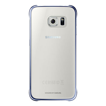 Official Samsung Galaxy S6 Clear Cover Case - Black