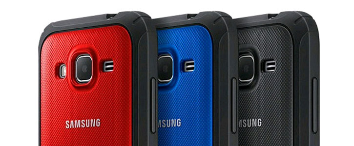 Official Samsung Galaxy Core Prime Protective Cover Hard Case - Blue