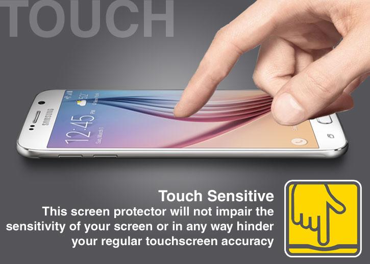 Olixar Samsung Galaxy S6 Tempered Glass Skärmskydd