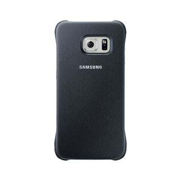 Official Samsung Galaxy S6 Edge Protective Cover Case - Blue / Black