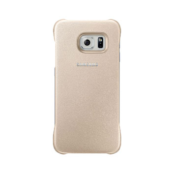 Official Samsung Galaxy S6 Edge Protective Cover Case - Gold
