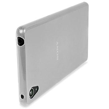 Encase FlexiShield Sony Xperia Z3+ Gel Case - Frost White