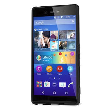 Encase FlexiShield Sony Xperia Z3+ Gel Case - Black