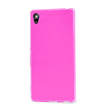Encase FlexiShield Sony Xperia Z3+ Gel Case - Light Pink