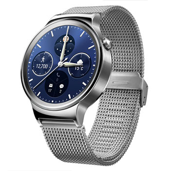 Huawei Watch for Android Smartphones - Silver