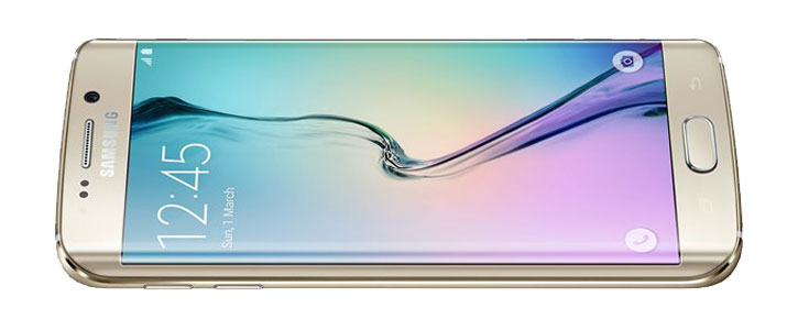 SIM Free Samsung Galaxy S6 Edge - Gold 32GB