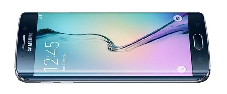 SIM Free Samsung Galaxy S6 Edge - Black 64GB