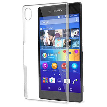 Olixar Polycarbonate Shell Case For Sony Xperia Z4 - 100% Clear