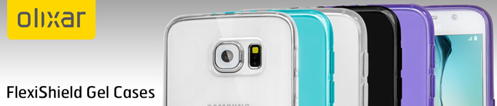 Olixar FlexiShield Samsung Galaxy S6 Gel Case - 100% Clear