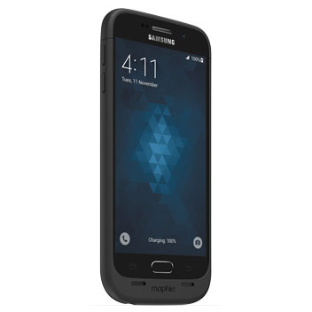 Mophie Juice Pack Samsung Galaxy S6 Battery Case - Black