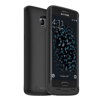 Mophie Juice Pack Samsung Galaxy S6 Edge Battery Case - Black