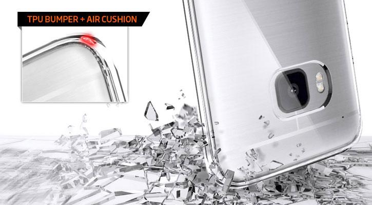 Spigen Ultra Hybrid HTC One M9 Case - Champagne Crystal