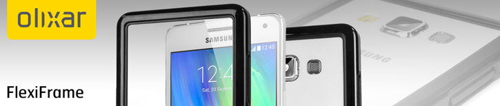 Olixar FlexiFrame Samsung Galaxy A5 Bunper Case - Black
