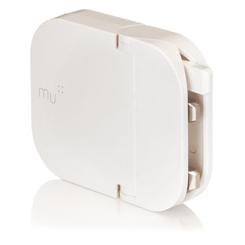 MU Duo Foldable USB Mains Charger 2 X 1.2A  - White