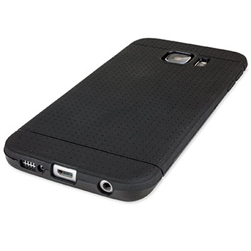 FlexiShield Dot Samsung Galaxy S6 Edge Case - Black