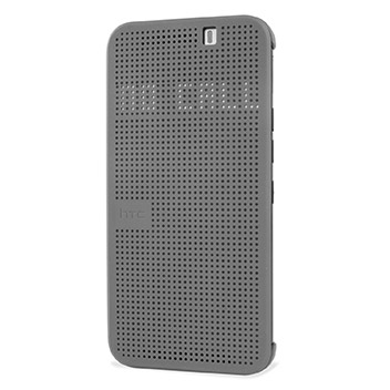 Official HTC One M9 Dot View 2 Case - Grey