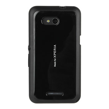Roxfit Gel Shell Slim Sony Xperia E4g Case - Black