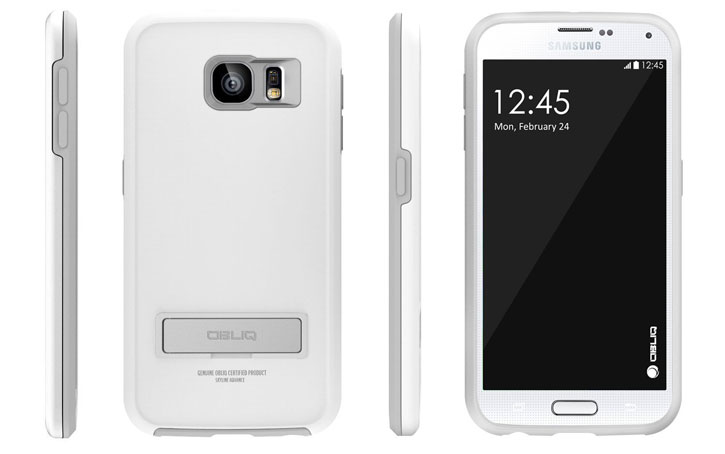 Obliq Skyline Advance Samsung Galaxy S6 Case - White