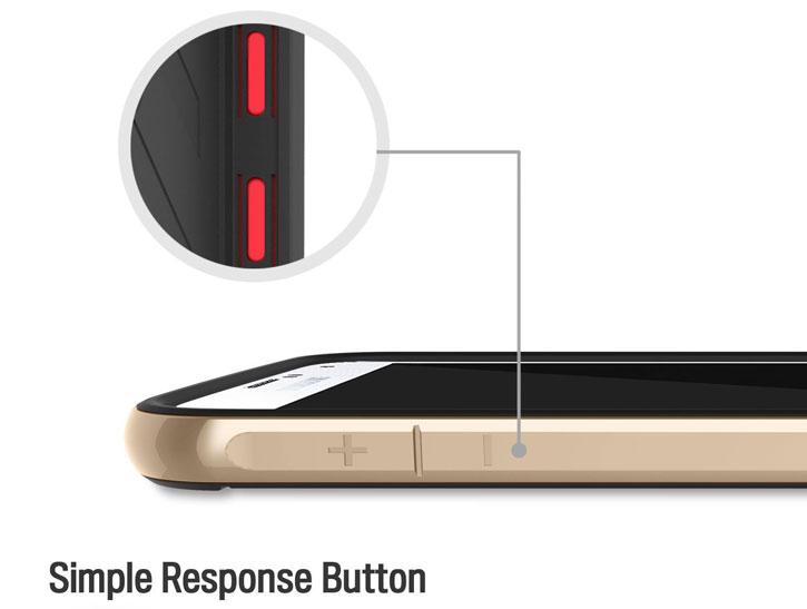 Obliq Dual Poly Samsung Galaxy S6 Bumper Case - Gold, Silver, Titanium