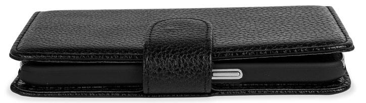Encase Leather-Style Samsung Galaxy Core Prime Wallet Case - Black