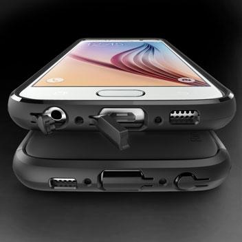 Rearth Ringke MAX Samsung Galaxy S6 Heavy Duty Case - Black