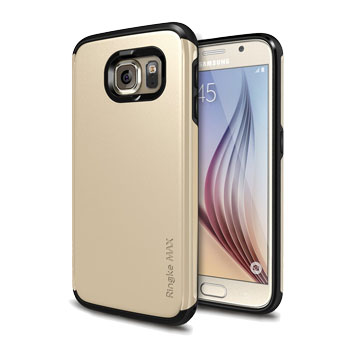 Rearth Ringke MAX Samsung Galaxy S6 Heavy Duty Case - Gold