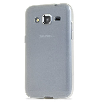 Encase FlexiShield Samsung Galaxy Core Prime Case - Frost White