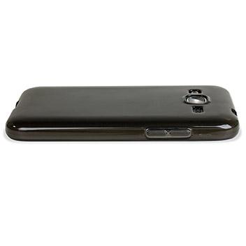 Encase FlexiShield Samsung Galaxy Core Prime Case - Smoke Black