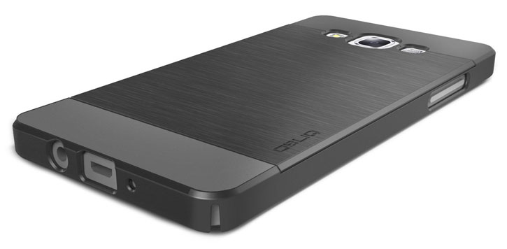 Obliq Slim Meta Samsung Galaxy A5 Case - Titanium Space Grey