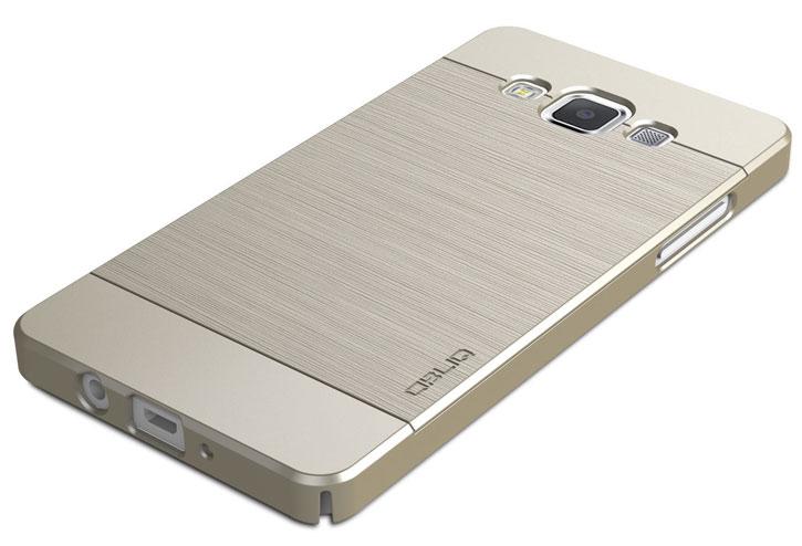 Obliq Slim Meta Samsung Galaxy A5 Case - Champagne Gold