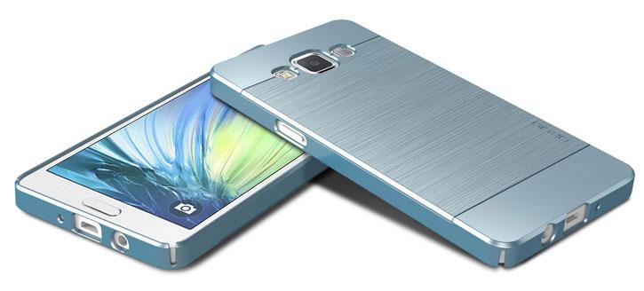 Obliq Slim Meta Samsung Galaxy A5 Case - Sky Blue