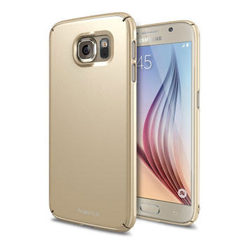 Rearth Ringke Slim Samsung Galaxy S6 Case - Gold