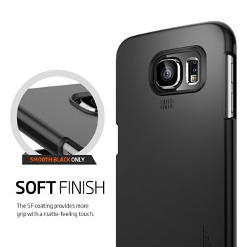 Spigen Thin Fit Samsung Galaxy S6 Edge Shell Case - Mint