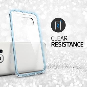 Spigen Ultra Hybrid Samsung Galaxy S6 Edge Case - Gunmetal