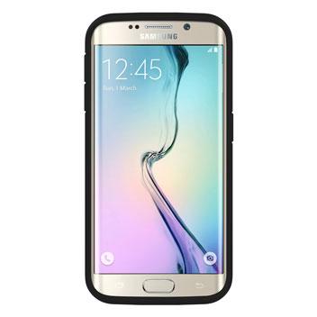 Seidio DILEX Pro Samsung Galaxy S6 Edge Case with Kickstand - Black
