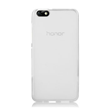 Olixar FlexiShield Huawei Honor 4X Gel Case - White