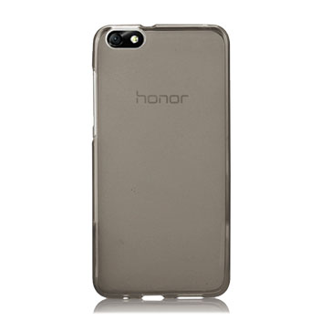 Olixar FlexiShield Huawei Honor 4X Gel Case - Smoke Black