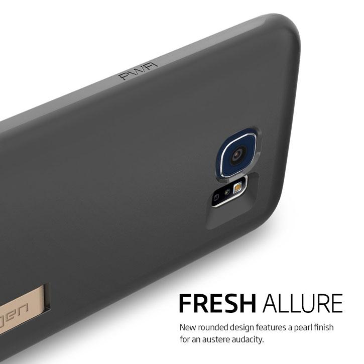 Spigen Samsung Galaxy S6 Capsule Case - Black