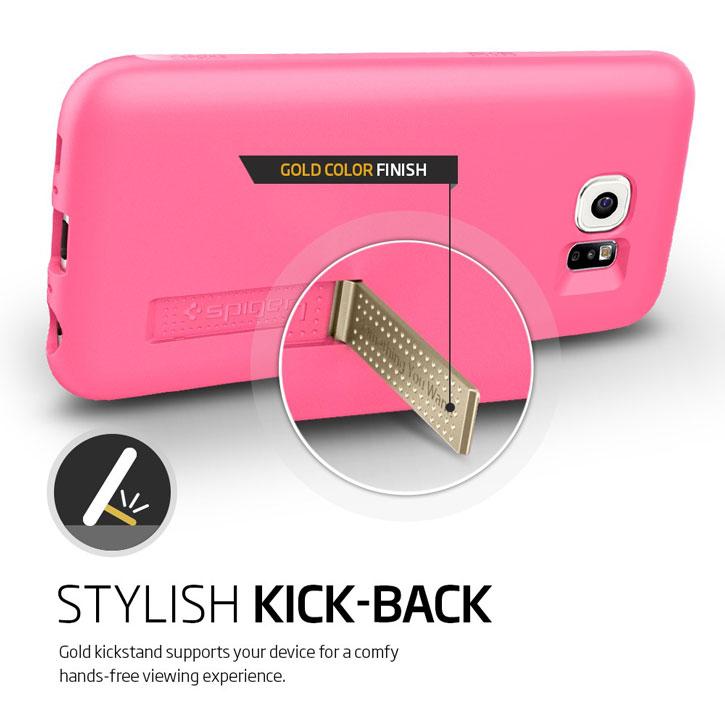 Spigen Samsung Galaxy S6 Capsule Case - Pink