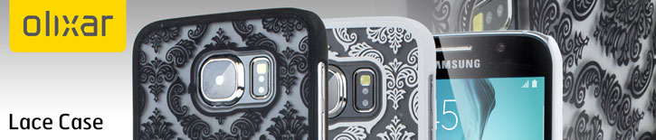 Olixar Lace Samsung Galaxy S6 Case - White